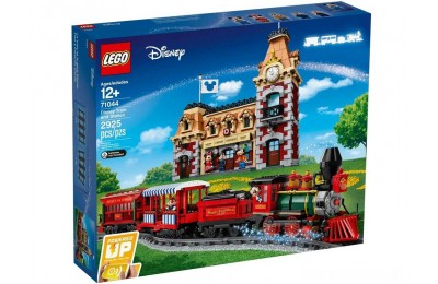 [ Black Friday 2020 ] LEGO Pociąg i dworzec Disney