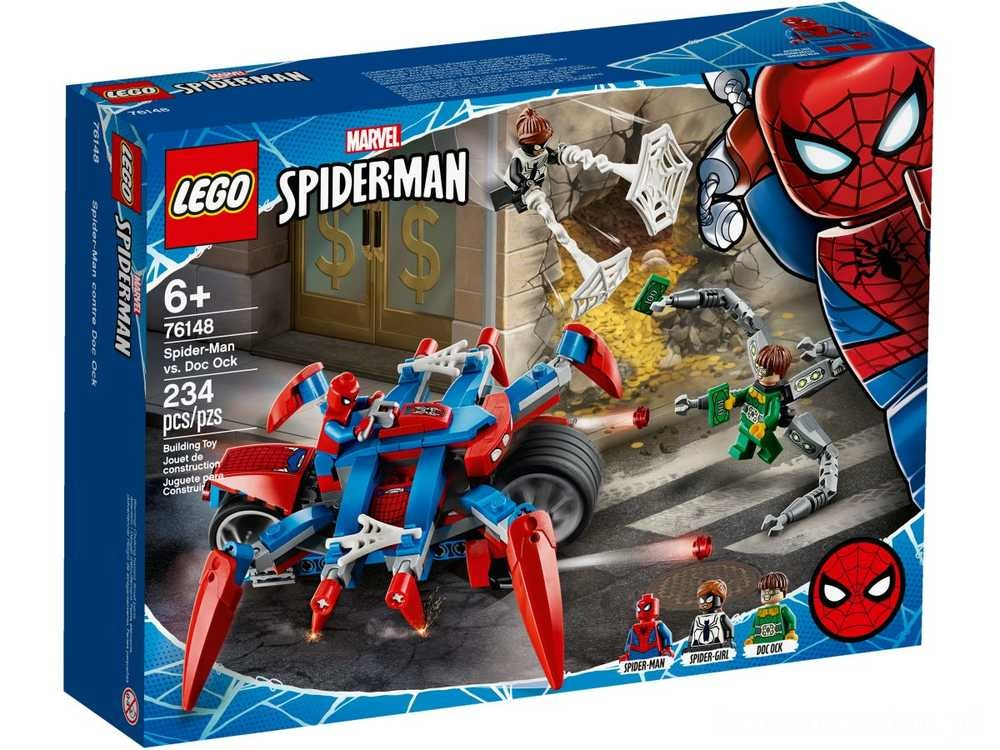 [ Black Friday 2020 ] LEGO Spider-Man kontra Doc Ock