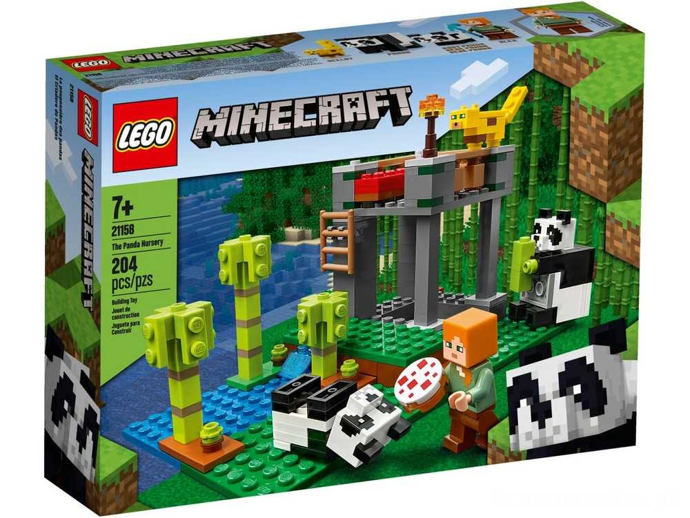[ Black Friday 2020 ] LEGO Żłobek dla pand
