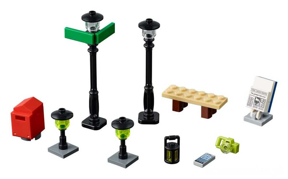 [ Black Friday 2020 ] LEGO Latarnie uliczne