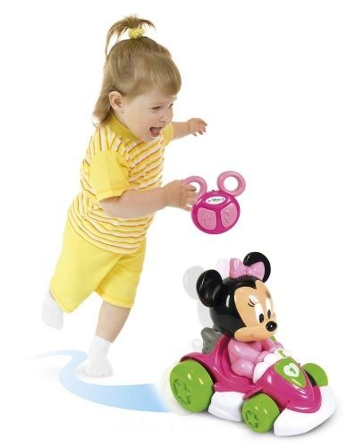 [ Black Friday 2020 ] CLEMENTONI DISNEY SAMOCHÓD GOKART NA PILOTA BABY MINNIE 17233
