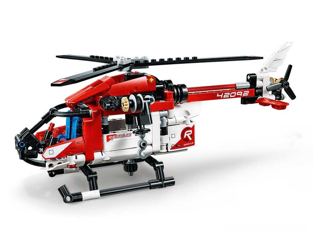 [ Black Friday 2020 ] LEGO Helikopter ratunkowy