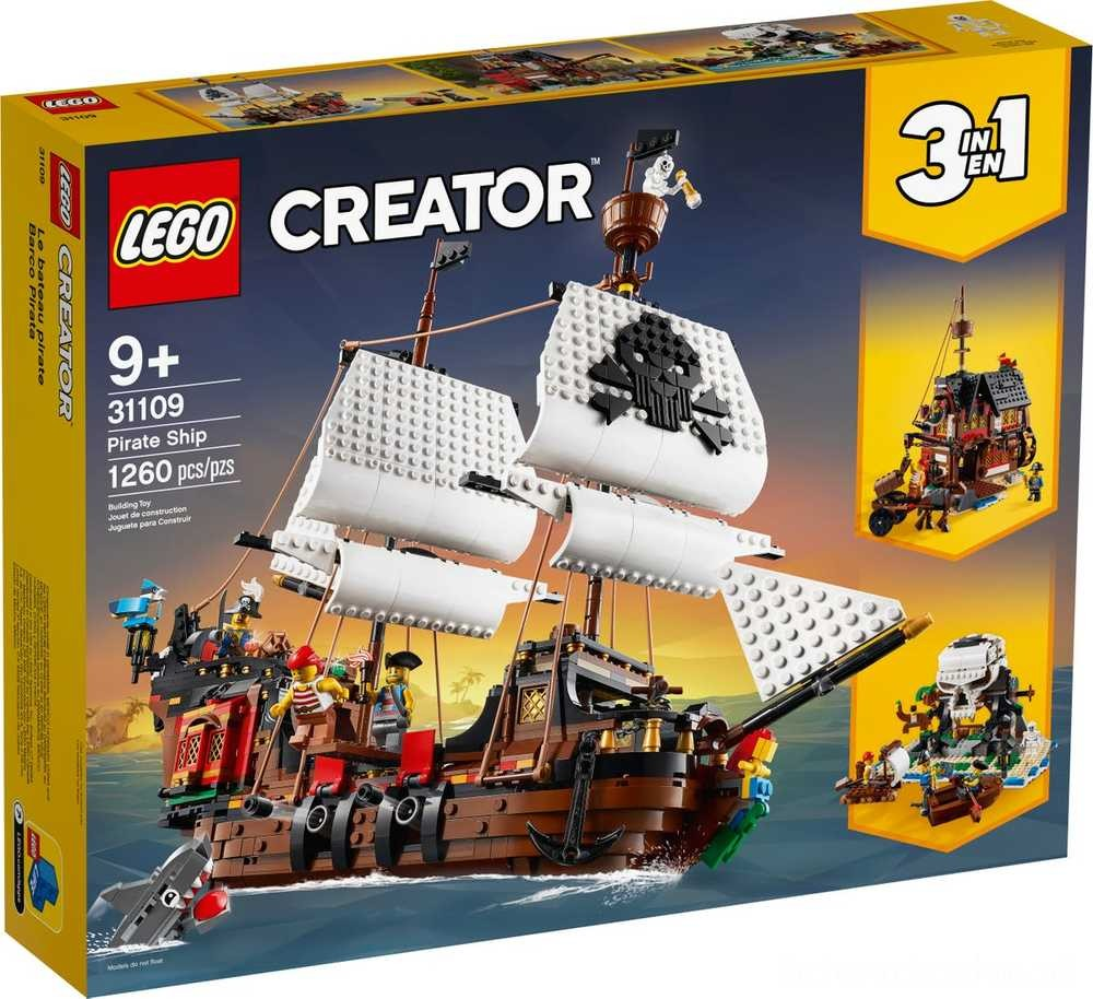[ Black Friday 2020 ] LEGO Statek piracki