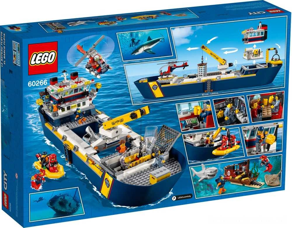 [ Black Friday 2020 ] LEGO Statek badaczy oceanu